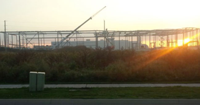 Array Bradford Expansion at Sunset