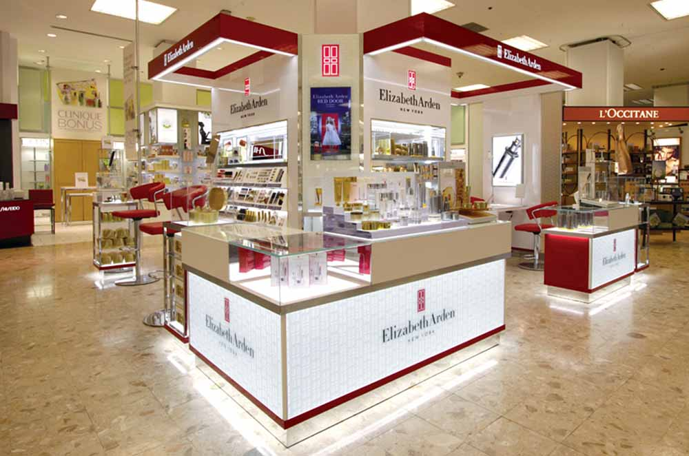 Elizabeth Arden Department Store Flagship Installations, Queen St ...