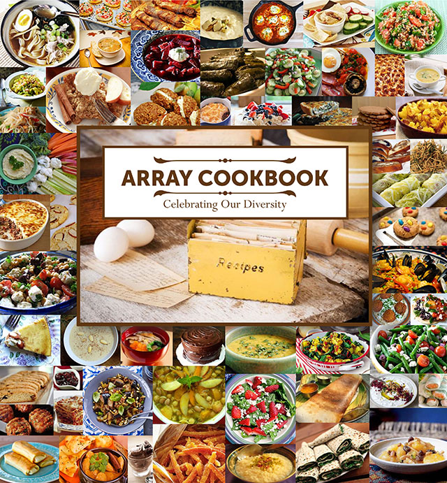 Array Cookbook Celebrating Our Diversity