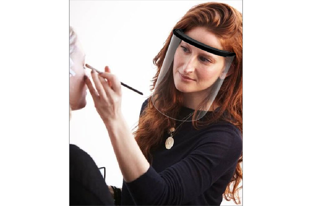 FASHION FACE SHIELD WITH REPLACEABLE VISOR